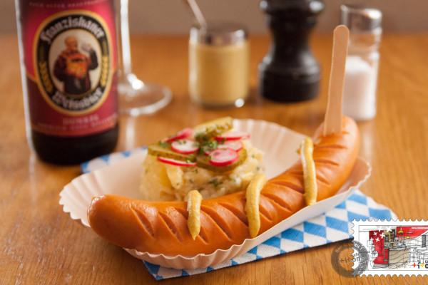 Box Bockwurst + bière au choix